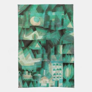 Toalla de cocina ideal de la ciudad de Paul Klee