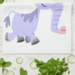 Toalla de cocina inusual linda del unicornio del d