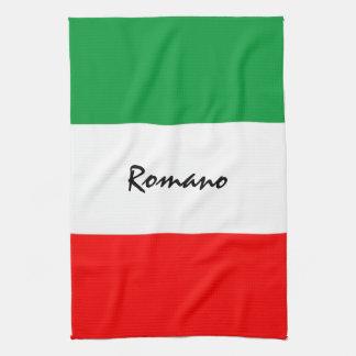 Toalla de cocina Italiano-Americana de encargo de