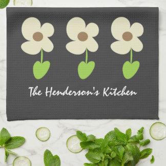 Toalla de cocina personalizada margarita moderna