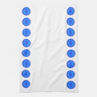 Toalla de cocina - puntos azules