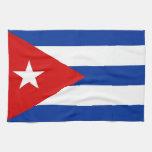 toalla de la bandera de país de Cuba