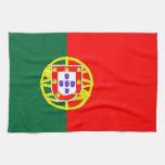 toalla de la bandera de país de Portugal