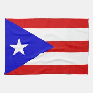 toalla de la bandera de país de Puerto Rico