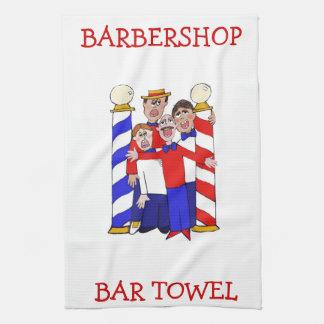 Toalla de la barra de la barbería