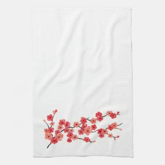 Toalla de la flor de cerezo
