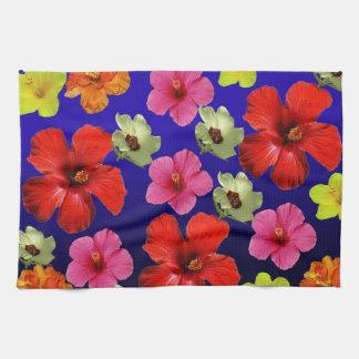 Toalla de la flor del hibisco