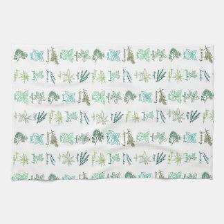 toalla de la hierba