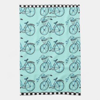 toalla de mano de la bicicleta