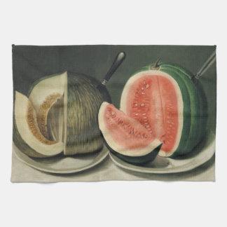 """Toalla de mano del arte de los """"melones"""""""