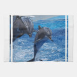 Toalla de salto del delfín