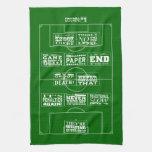 Toalla de té de los clichés No.1 del fútbol