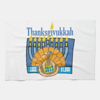 Toalla de Thanksgivukkah
