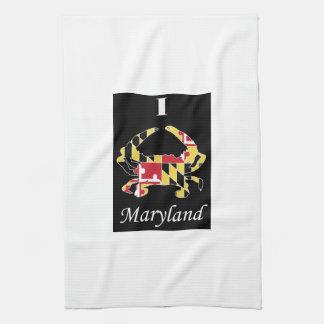 Toalla del cangrejo de Maryland