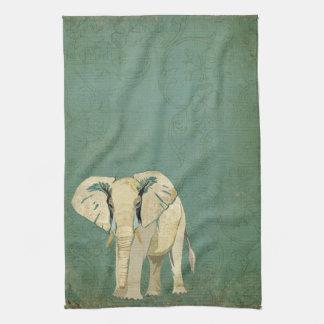 Toalla del elefante blanco