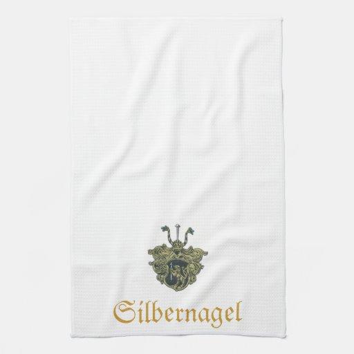 Toalla del escudo de Silbernagel