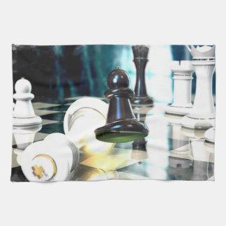 Toalla del movimiento de ajedrez