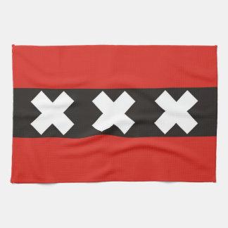 toalla Holanda Países Bajos de la bandera de la ci