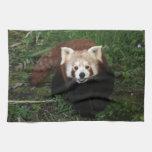 Toalla - panda roja