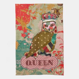 Toalla subió reina de Boho del búho