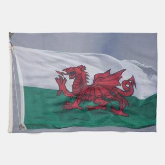 Toallas de cocina de la bandera de País de Gales