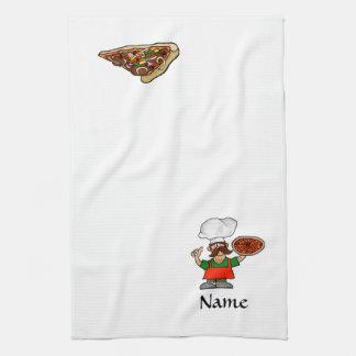 ¡Toallas de cocina de la diversión de la pizza a m