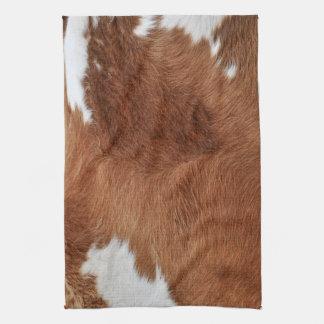 Toallas de cocina de la piel de la vaca
