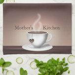 Toallas de cocina de Latte del café