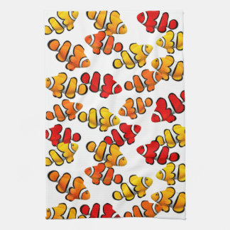 Toallas de cocina de los pescados de Anenome del p