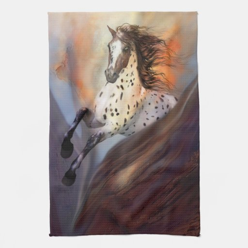 Toallas de cocina del caballo salvaje 2