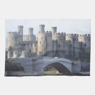Toallas de cocina del castillo de Conwy