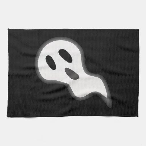 Toallas de cocina del fantasma de Halloween