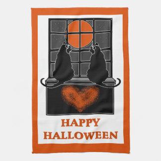 Toallas de cocina del feliz Halloween