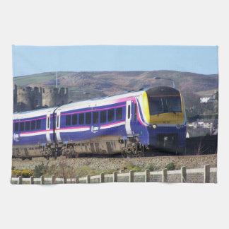 Toallas de cocina del tren de Conwy