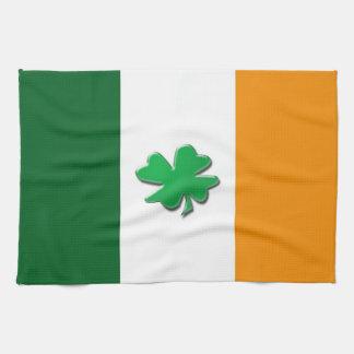 Toallas de cocina irlandesas de la bandera