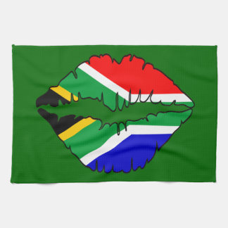 Toallas de cocina surafricanas de MoJo del beso de