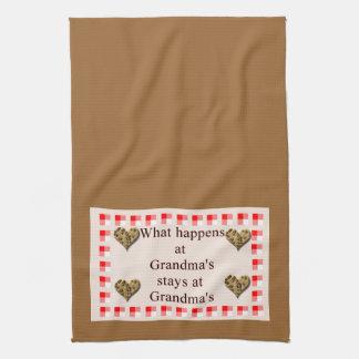 Toallas de la cocina de la abuela