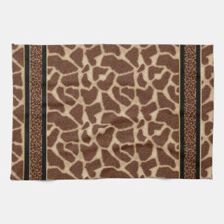 Toallas de la colección de las jirafas del genio