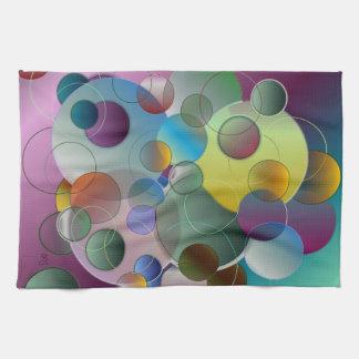 Toallas de las burbujas