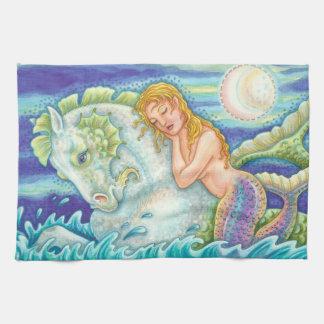 TOALLAS de MANO ideales de la sirena del marinero
