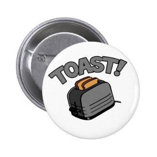 Toast! 2 Inch Round Button