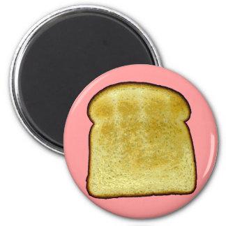 Toast 2 Inch Round Magnet