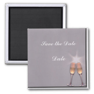 Toast 2 Inch Square Magnet
