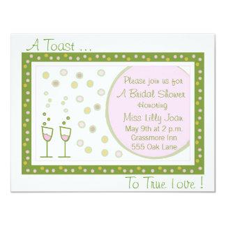 toast, A Toast ..., To True Love ! Card