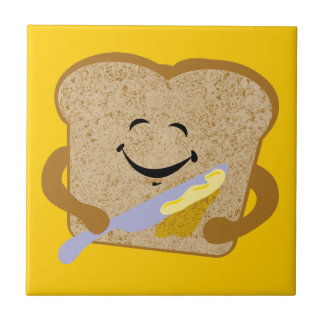 Toast And Butter Ceramic Tile