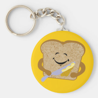 Toast And Butter Keychain