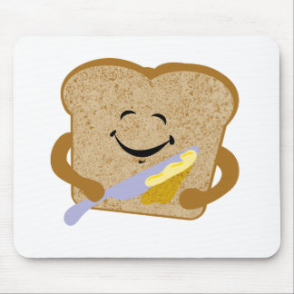 Toast And Butter Mouse Pad