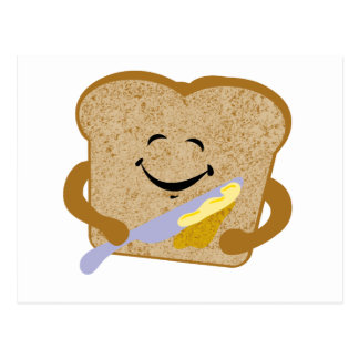 Toast And Butter Postcard