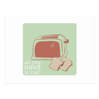 Toast And Toaster Post Card