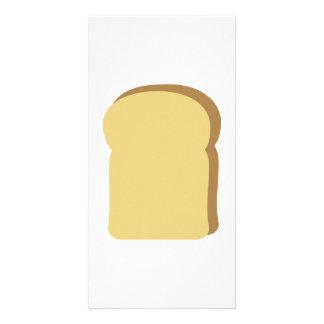 Toast bread card